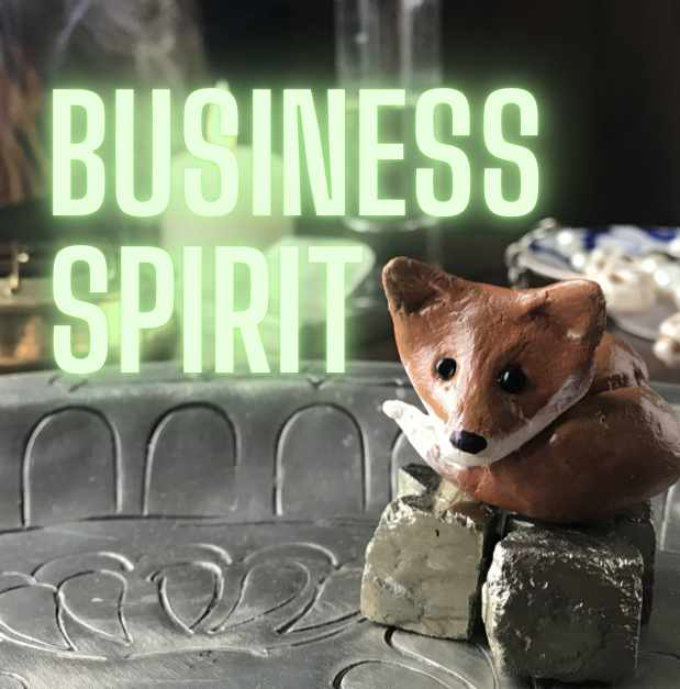 Business Spirit graphic with fox